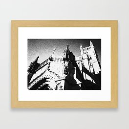The Castle in the Sky Framed Art Print