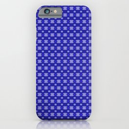 Shades of Blue Pattern 8 by Kristalin Davis iPhone Case