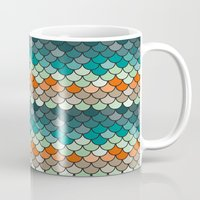 scales Mugs featuring Scales by Pattern Design