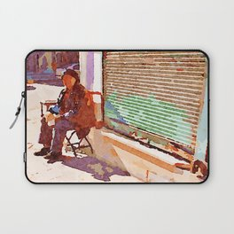 Street player in Aleppo Laptop Sleeve