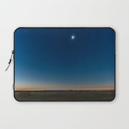 Solar Eclipse Totality Over Grand Tetons Laptop Sleeve