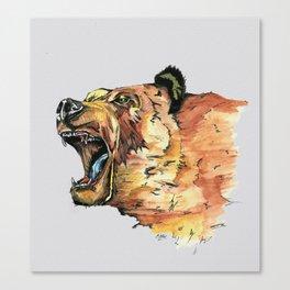 Ursus arctos Canvas Print