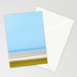 beach on the bay Stationery Cards