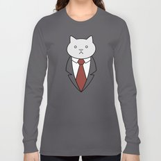 Business Cat Long Sleeve T-shirt