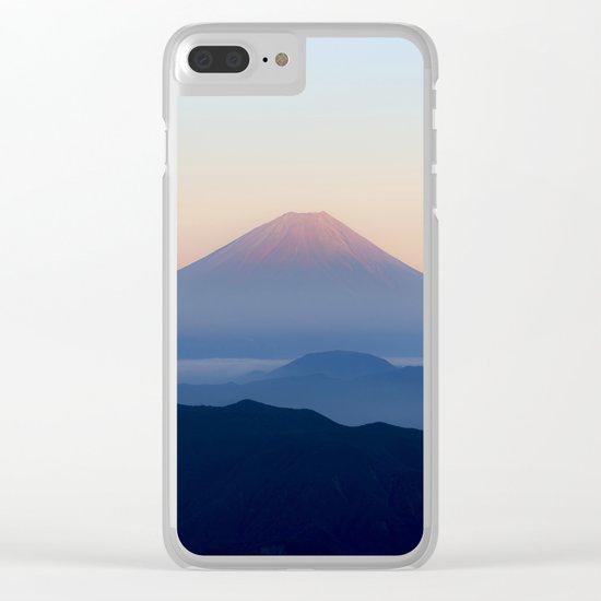Mt. Fuji, Japan Clear iPhone Case