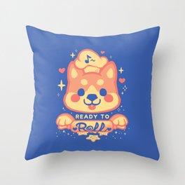 Panko Rolls Throw Pillow
