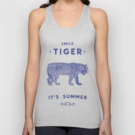 Smile Tiger, it's Summer Unisex Tank Top
