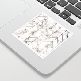 Marble Geometry 057 Sticker