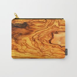 olive tree wood Carry-All Pouch