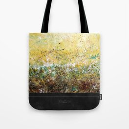 Abstract Art - First Bloom Tote Bag