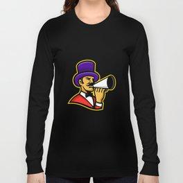 Circus Ringleader or Ringmaster Mascot Long Sleeve T-shirt