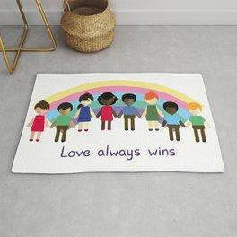 Love always wins Rug
