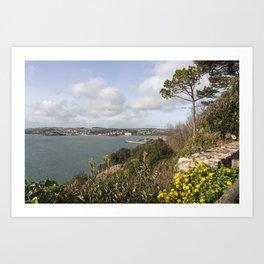 Torquay Headland Art Print