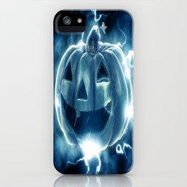 Spooky Jack-o-Lantern iPhone Case