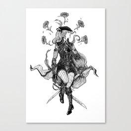 Lady Maria Canvas Print