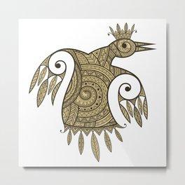 Princess of birds Metal Print
