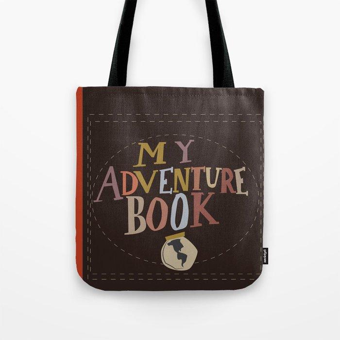 my adventure book.. up, carl and ellie Tote Bag