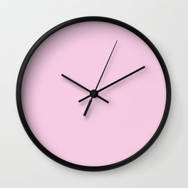 Princess Charlotte Pink- Royal Princess Rose Wall Clock