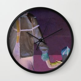 Temp Magazine Cover Illustration Wall Clock