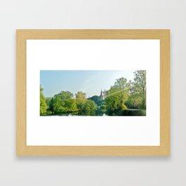 Ireland: sunbeam  Framed Art Print