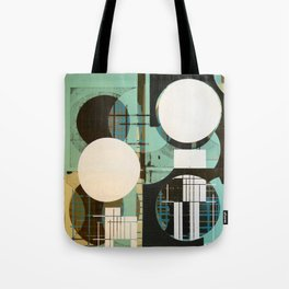 Mid Century Fragments 3 Tote Bag