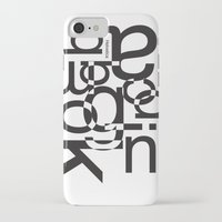 helvetica iPhone & iPod Cases featuring helvetica 01 by Vin Zzep