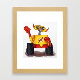 Wall-E West Framed Art Print