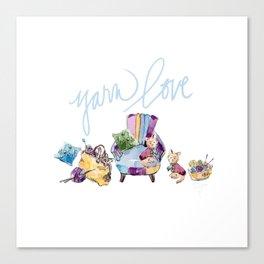 Yarn Love Canvas Print