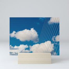Samuel Beckett bridge Dublin Mini Art Print