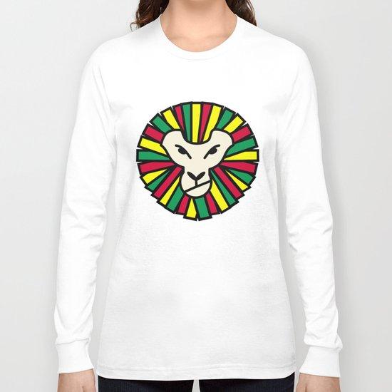 Lion Rastafari Long Sleeve T-shirt