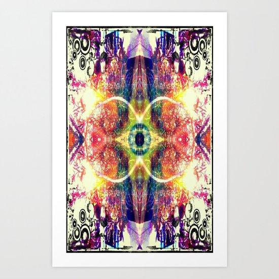 UPLIFTING EYE Art Print