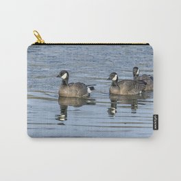 Three Cackling Geese Carry-All Pouch