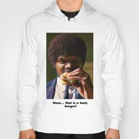 pulp fiction Hoodies featuring PULP FICTION by i live