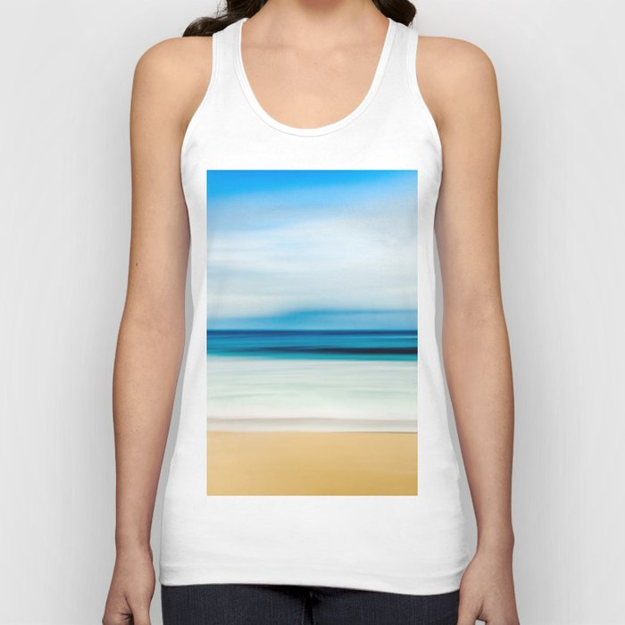 Beautiful Beach View Unisex Tank Top