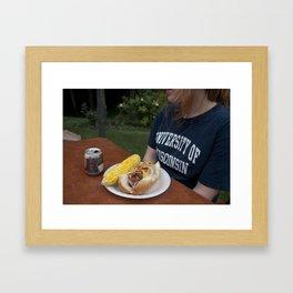 Cookout Framed Art Print