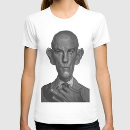 John Malkovich Caricature T-shirt