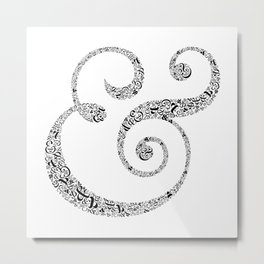 The Ampersand of Ampersands Metal Print
