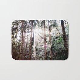Big Sur Forest Sunbeams Bath Mat