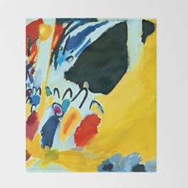 Wassily Kandinsky Impression III Throw Blanket