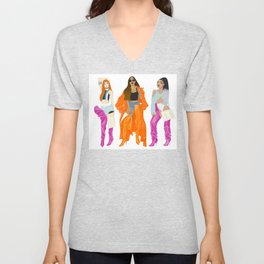 Vetements boots girls - Lisa, Rihanna, Leigh-Anne Unisex V-Neck