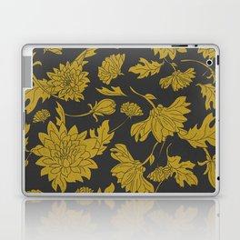 Hand drawn automnal flowers Laptop & iPad Skin