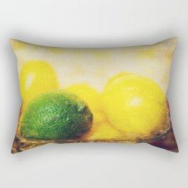 All puckered up ! Rectangular Pillow
