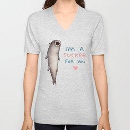 Suckerfish Unisex V-Neck