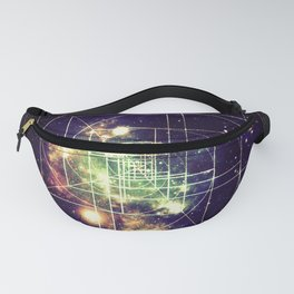 Galaxy Sacred Geometry: Golden mean Fanny Pack