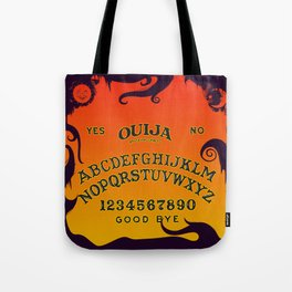 Scary Ouija Board Tote Bag