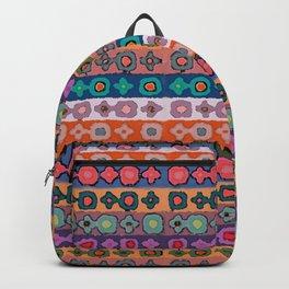 Fair Isle Knitting (Lidiya) Backpack