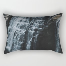Middle Letchworth Falls Rectangular Pillow