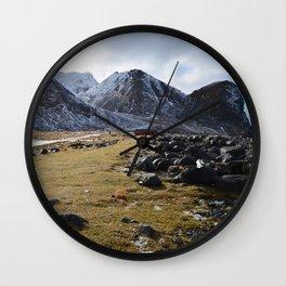 Unstad Wall Clock