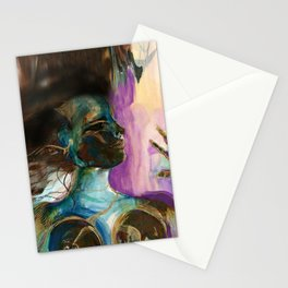 Earth Goddess No. 2 by Kathy Morton Stanion Stationery Cards