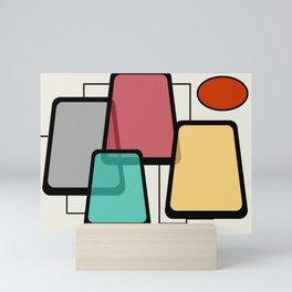 Mid-Century Modern Art Landscape 1.1 Mini Art Print